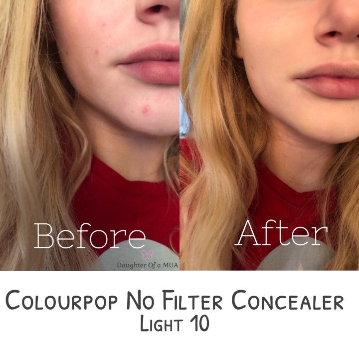 Colourpop No Filter Concealer Light 10