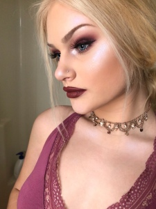 Smokey Purple Makeup Look
