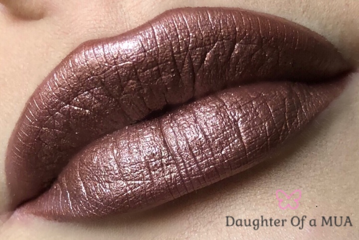 "Colourpop Ultra Metallic Lip in ""Man Eater"""